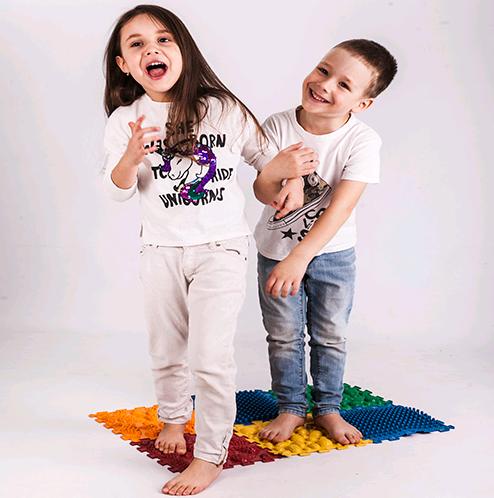 Ортопедические коврики для детей - как выбрать