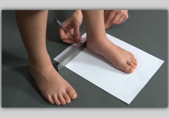 Як визначити розмір взуття Фото 7