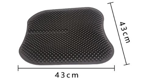 Силіконовий масажний килимок для сидіння Ortek Фото 4